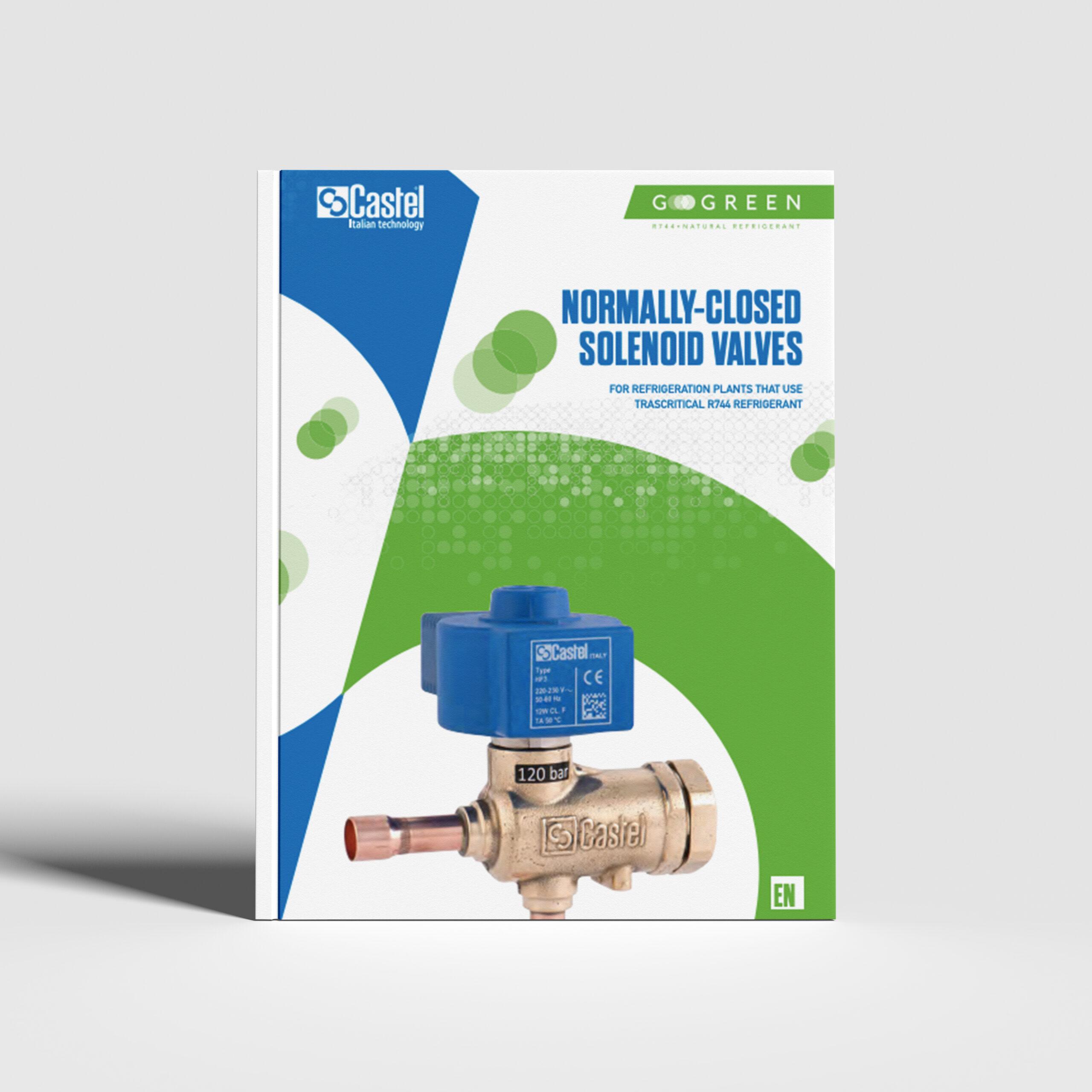 Solenoid valves for CO2 - GoGreen Line