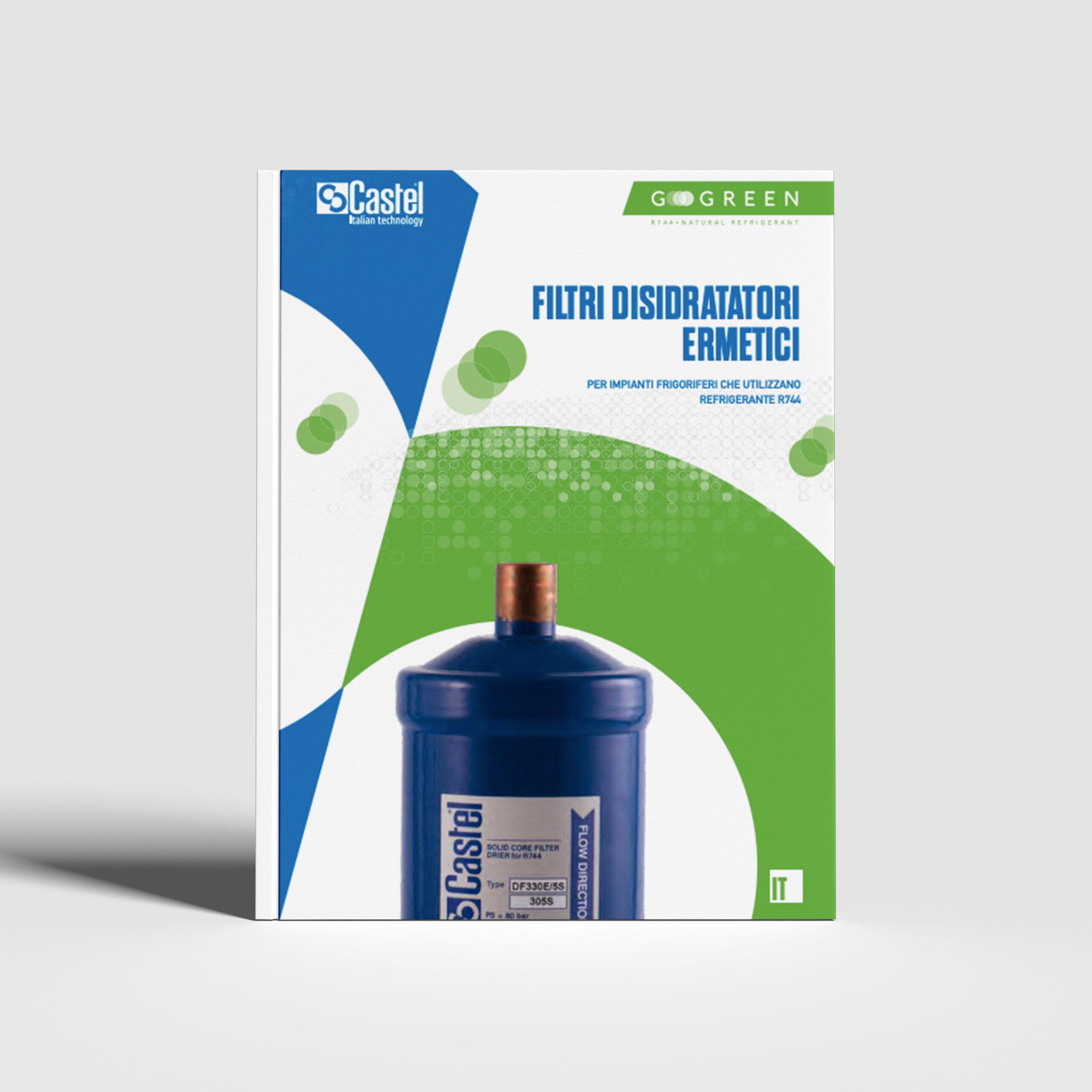 Filtri disidratatori ermetici per CO2