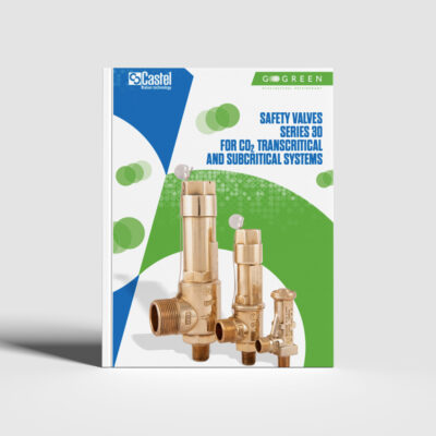 Safety valves series 30 for CO2 transcritical and subcritical systems